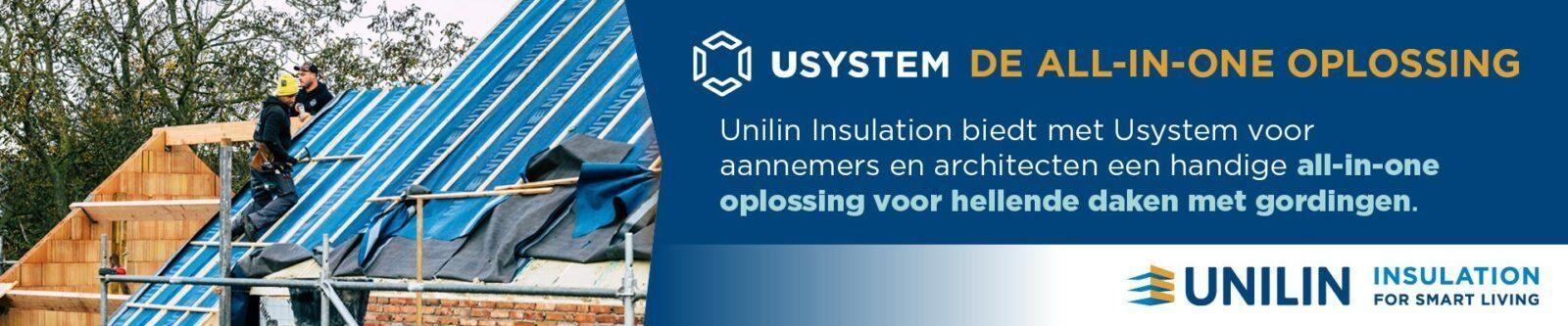 Banner pagina isolatiewerken - Usystem