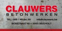 Logo Clauwers Betonwerken